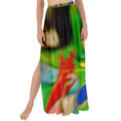 Acrobat Wormhole Transmitter Monument Socialist Reality Rainbow Maxi Chiffon Tie Up Sarong