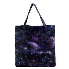 Animation Plasma Ball Going Hot Explode Bigbang Supernova Stars Shining Light Space Universe Zooming Grocery Tote Bag by Mariart