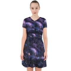 Animation Plasma Ball Going Hot Explode Bigbang Supernova Stars Shining Light Space Universe Zooming Adorable In Chiffon Dress