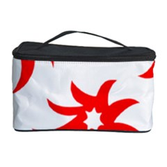 Star Figure Form Pattern Structure Cosmetic Storage Case by Nexatart
