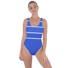 Stripes Pattern Template Texture Blue Bring Sexy Back Swimsuit
