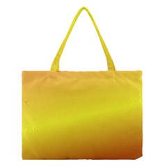 Gradient Orange Heat Medium Tote Bag by Nexatart