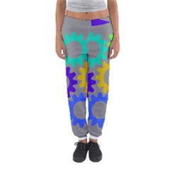 Gear Transmission Options Settings Women s Jogger Sweatpants by Nexatart
