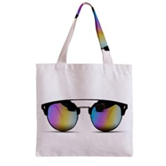 Sunglasses Shades Eyewear Zipper Grocery Tote Bag by Nexatart
