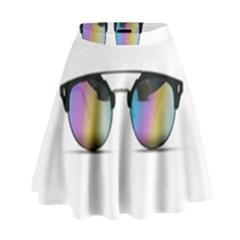 Sunglasses Shades Eyewear High Waist Skirt by Nexatart