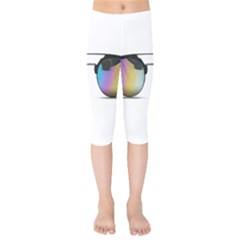Sunglasses Shades Eyewear Kids  Capri Leggings  by Nexatart