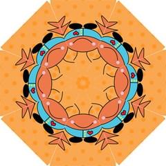 Crab Sea Ocean Animal Design Golf Umbrellas by Nexatart