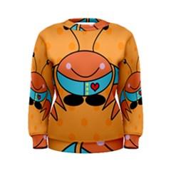 Crab Sea Ocean Animal Design Women s Sweatshirt