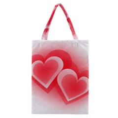 Heart Love Romantic Art Abstract Classic Tote Bag