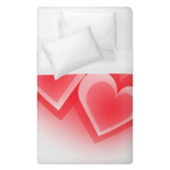 Heart Love Romantic Art Abstract Duvet Cover (single Size) by Nexatart