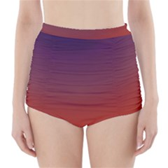 Course Colorful Pattern Abstract High Waisted Bikini Bottoms