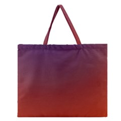Course Colorful Pattern Abstract Zipper Large Tote Bag