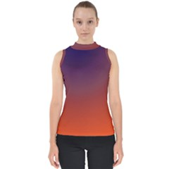 Course Colorful Pattern Abstract Shell Top