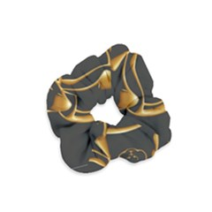 Gold Dog Cat Animal Jewel Dor¨| Velvet Scrunchie