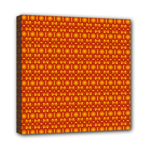 Pattern Creative Background Mini Canvas 8  X 8
