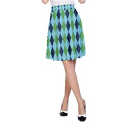 Rockabilly Retro Vintage Pin Up A Line Skirt