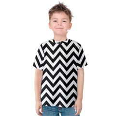 Wave Background Fashion Kids  Cotton Tee