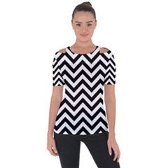 Wave Background Fashion Short Sleeve Top