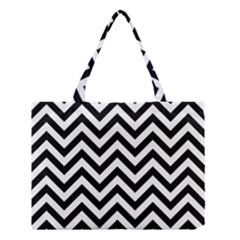Wave Background Fashion Medium Tote Bag