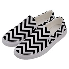 Wave Background Fashion Men s Canvas Slip Ons by Nexatart