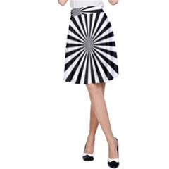 Rays Stripes Ray Laser Background A Line Skirt