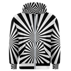 Rays Stripes Ray Laser Background Men s Zipper Hoodie