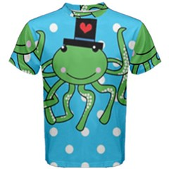 Octopus Sea Animal Ocean Marine Men s Cotton Tee