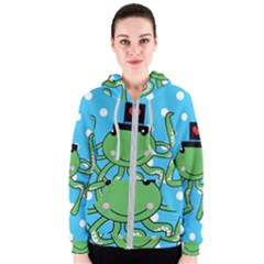 Octopus Sea Animal Ocean Marine Women s Zipper Hoodie