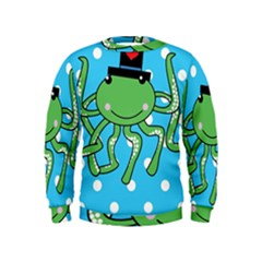 Octopus Sea Animal Ocean Marine Kids  Sweatshirt