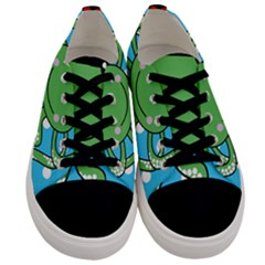 Octopus Sea Animal Ocean Marine Men s Low Top Canvas Sneakers