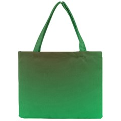 Course Colorful Pattern Abstract Green Mini Tote Bag by Nexatart