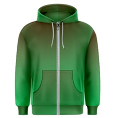 Course Colorful Pattern Abstract Green Men s Zipper Hoodie