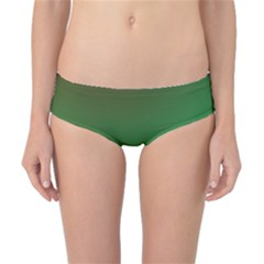 Course Colorful Pattern Abstract Green Classic Bikini Bottoms