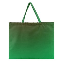 Course Colorful Pattern Abstract Green Zipper Large Tote Bag