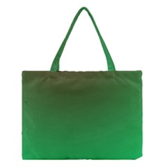 Course Colorful Pattern Abstract Green Medium Tote Bag