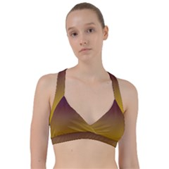 Course Colorful Pattern Abstract Sweetheart Sports Bra
