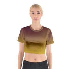 Course Colorful Pattern Abstract Cotton Crop Top