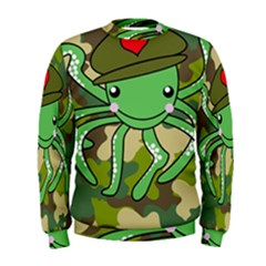 Octopus Army Ocean Marine Sea Men s Sweatshirt