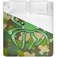 Octopus Army Ocean Marine Sea Duvet Cover (king Size) by Nexatart