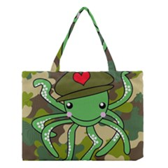 Octopus Army Ocean Marine Sea Medium Tote Bag