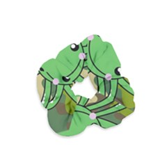 Octopus Army Ocean Marine Sea Velvet Scrunchie