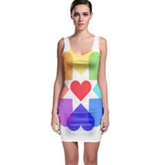 Heart Love Romance Romantic Bodycon Dress