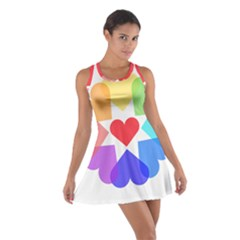 Heart Love Romance Romantic Cotton Racerback Dress