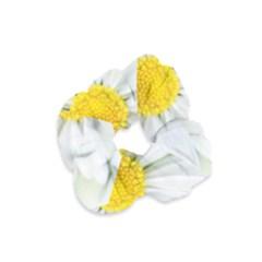 Art Daisy Flower Art Flower Deco Velvet Scrunchie