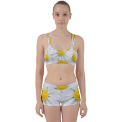 Art Daisy Flower Art Flower Deco Women s Sports Set by Nexatart
