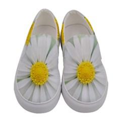 Art Daisy Flower Art Flower Deco Women s Canvas Slip Ons