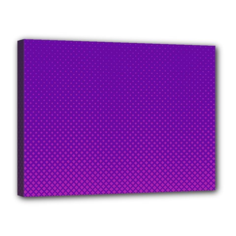 Halftone Background Pattern Purple Canvas 16  X 12