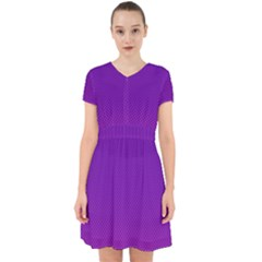 Halftone Background Pattern Purple Adorable In Chiffon Dress