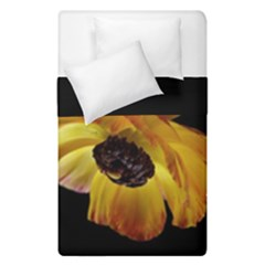 Ranunculus Yellow Orange Blossom Duvet Cover Double Side (single Size)