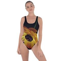 Ranunculus Yellow Orange Blossom Bring Sexy Back Swimsuit